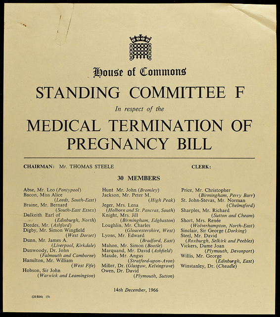 brown photo of House of Commons Standing Committee