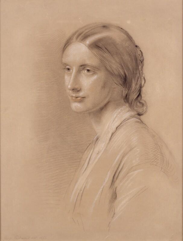 Profile sketch of Josephine Butler