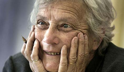 Colour photo of Mary Warnock